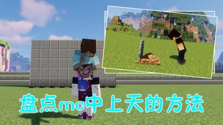 我的世界:mc中上天的手段,阿青骑影影和him