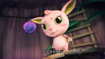 精灵梦叶罗丽:大家来到仙境,但自身法力还很弱,打败女王很困难