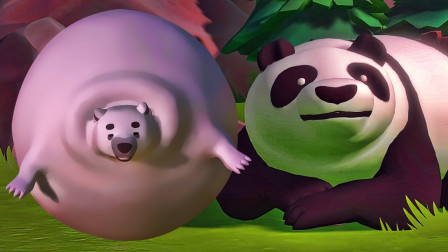 这游戏里的胖熊胃口比熊大熊二还要厉害