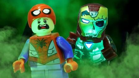 """复联感染病毒,""""丧尸钢铁侠""""一登场,蜘蛛侠被吓出心理阴影!"""