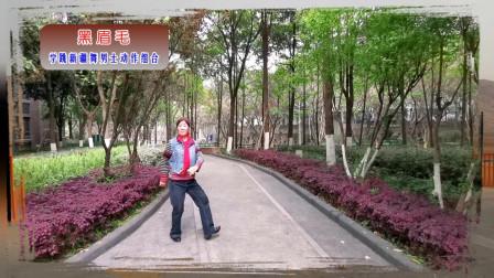 学跳新疆舞·黑眉毛(男士动作组合正面)