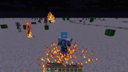 我的世界:Minecraft玩家必看,如何召唤HIM!!!