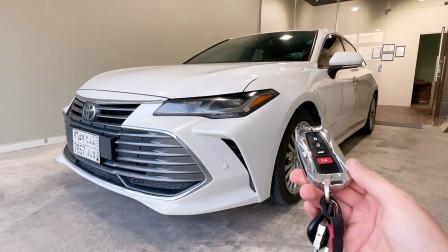 2021款丰田亚洲龙入库实拍,按下钥匙坐进车内,不要太喜欢了!
