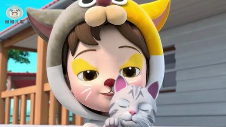 超级宝贝JOJO:动物怎么叫,小猫喵喵喵