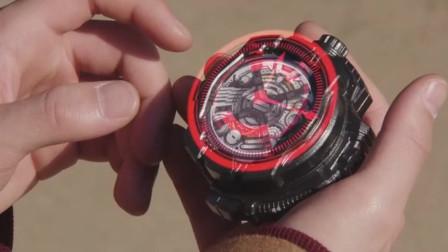 假面骑士:龙骑夜骑手表诞生,可惜夜骑已经消失!