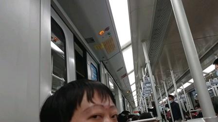 上海地铁1号线大修老八上海马戏城-汶水路(终点站富锦路)