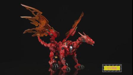 《变形金刚》模型变身定格动画!红龙EX-42
