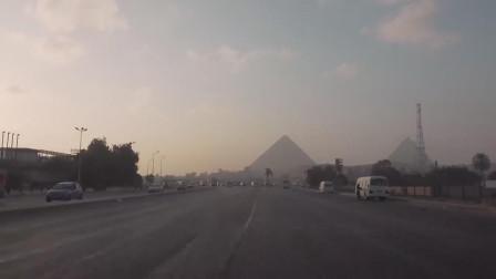 车行与漫步:驾车从开罗到吉萨金字塔(3294)