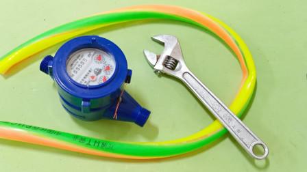 水电工不要再故意把水表装反了,一点用都没有,懂行的电工太少了