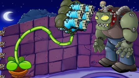 所有豌豆挑战僵尸大军,咱们能抵挡的住吗?