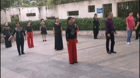王雄老师和邬彩凤老师在太子山庄互动单人吉特巴《远方有信仰》