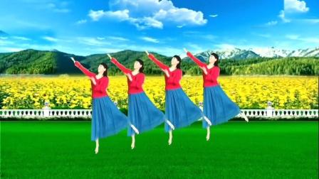 美久广场舞《最亲的人》歌美舞柔,精彩演绎,表演:魅之舞