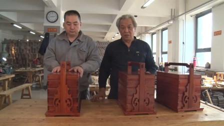 天津话师徒说食盒