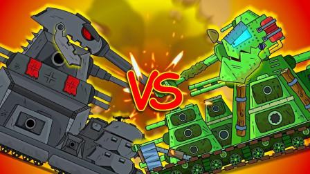 坦克世界动画:kv45的内战