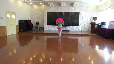 舞蹈:《东方红》习舞:月亮