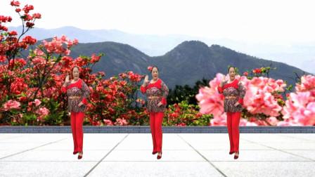 广场舞《映山红》经典红歌,怀旧歌曲,节奏欢快,好听好看!