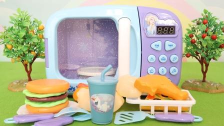 冰雪奇缘:音乐益智微波炉玩具分享