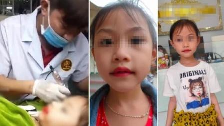 男子为5岁女儿纹唇引批评 事后还做了另一决定让网友气炸