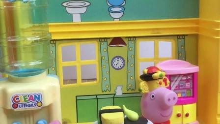乔治在家不好好吃饭,猪妈妈和佩奇想出了好办法