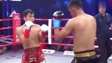 自由搏击拳击赛 中国超级战将 一拳打爆世界冠军