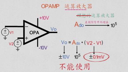 第50期 01 运算放大器的其他应用,初识电压比较器