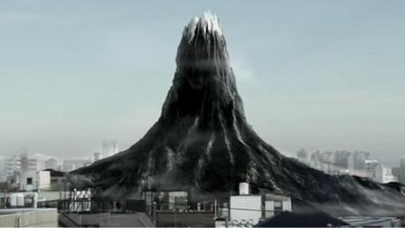 垃圾和人类埋在一起,堆成了黑色富士山,导致尸体变成了僵尸