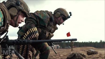 比利时陆军士兵在立陶宛进行射击和战术训练(3298)