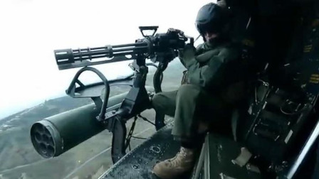 战争片:这才叫重型加特林,疯狂战斗场面让人大呼过瘾