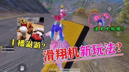 搞笑鹿鹿:差点退游?滑翔机真正玩法,喂你一嘴狗粮!
