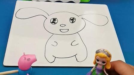 益智玩具:大家看贝儿画的是什么呀