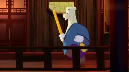 虹猫蓝兔:大奔一言不合,拿起铜棍就跟马三娘打起来了,打得好