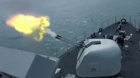 火炮怒吼击碎水面浮雷!解放军多型扫雷舰集结南海开展反水雷演练