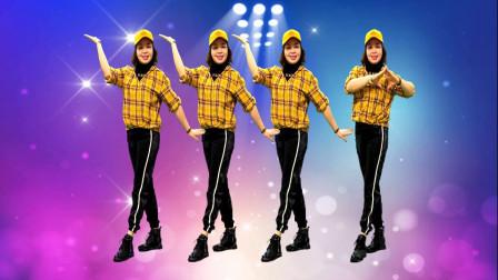 明天会更好广场舞《小师妹》简单易学好听,弹跳32步,原创附教学分解!