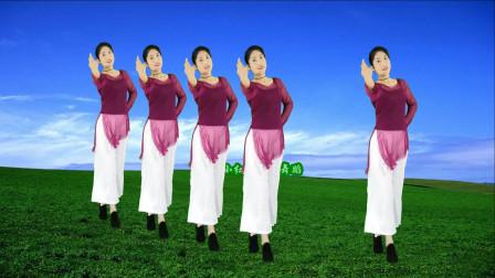 精选广场舞《爱悠悠情悠悠》柔情似水舞蹈优美,减脂塑形锻炼身体