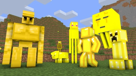 MC动画世界:怪物们的黄金世界