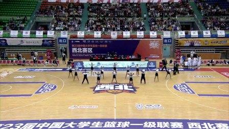 河南大学VS山西财大啦啦操小成套展示(三) CUBA啦啦队大赛 1
