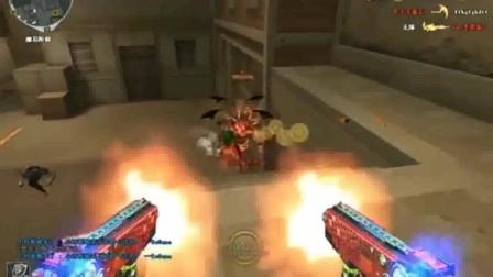 穿越火线:伴随六烈龙的死亡之眼,按住左键子弹用不完