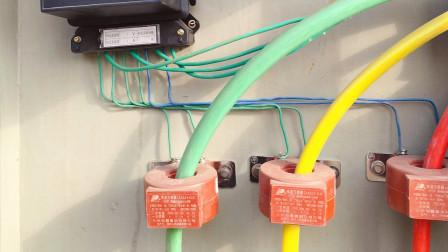 三相四线电表怎么接电流互感器?记住这个规律,再也不会接错线了