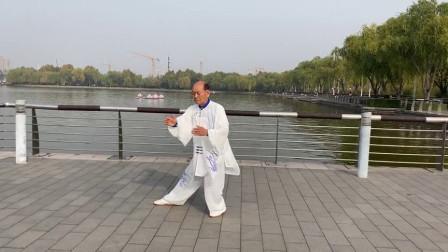 马友力杨氏传统85式太极拳演练