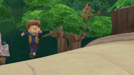 熊出没之熊大快跑-嘿,光头强,说好的不追熊大了,怎么还在追啊