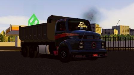 世界卡车模拟-奔驰13136x2长头自卸车(2)
