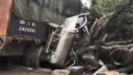 广西河池一货车失控致6死3伤,警方通报