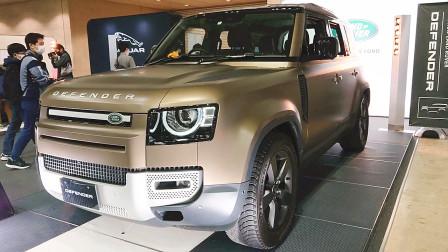 新车展示,2022款路虎卫士V8版,看到实车那刻,才知道啥叫霸气