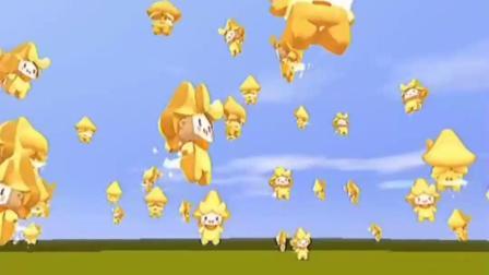 迷你世界:天上飞的都是电灯泡?