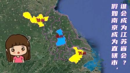 假如南京升格直辖市,谁有资格接替省会位置?这三座城市呼声最高!