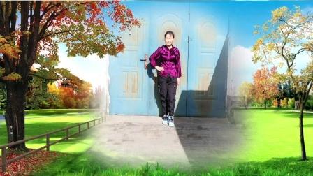 内蒙古乌海明珠广场,学跳版(大风吹)编舞美久导师