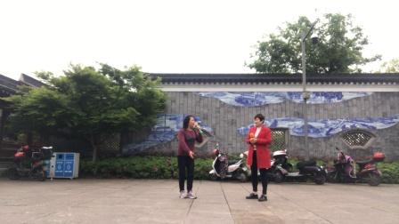 2021年4月13日、西塘公园越剧《山河恋:送信》林美、叶心演唱:来自、美林如意