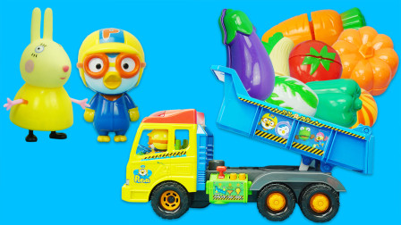 小企鹅啵乐乐工程车玩具