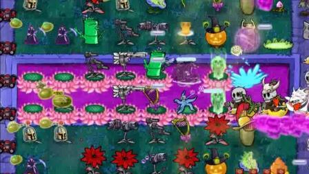 植物大战僵尸魔幻版97:雨中种植物