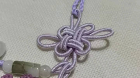 编绳基础-绕线吉祥结编织方法